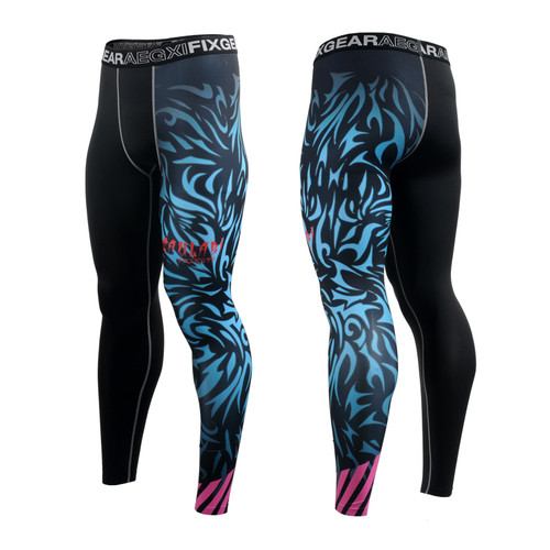 FIXGEAR FPL-H3 Compression Base Layer Tights with Wide Waistband