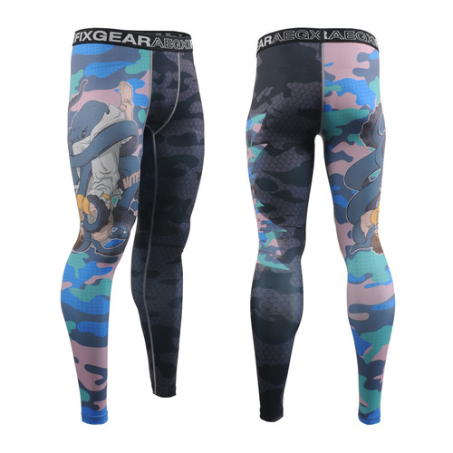 FIXGEAR FPL-H5C Compression Base Layer Tights with Wide Waistband