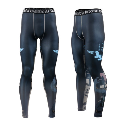 FIXGEAR FPL-79 Compression Base Layer Tights with Wide Waistband