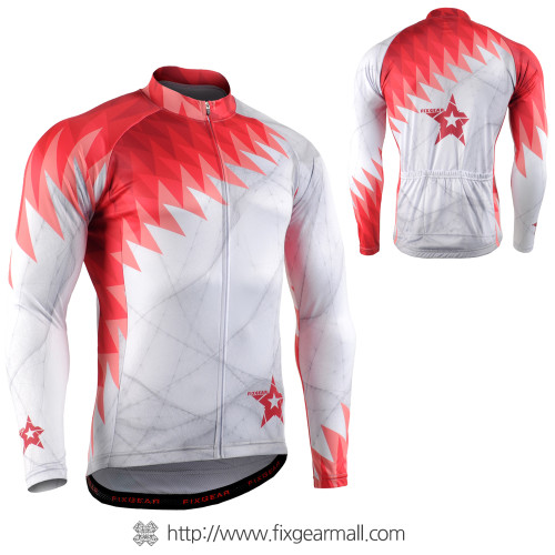 FIXGEAR CS-65R1 Men's Long Sleeve Cycling Jersey