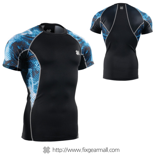 FIXGEAR C2S-B66 Compression Shirt Base Layer Short Sleeve