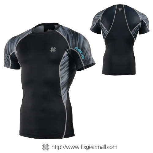 FIXGEAR C2S-B67 Compression Shirt Base Layer Short Sleeve