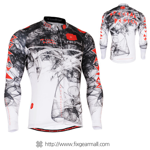 FIXGEAR CS-2101 Men's Cycling Jersey long sleeve