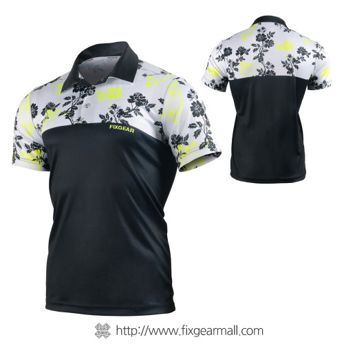 FIXGEAR FPO-FS09 Mens short sleeve Polo shirts