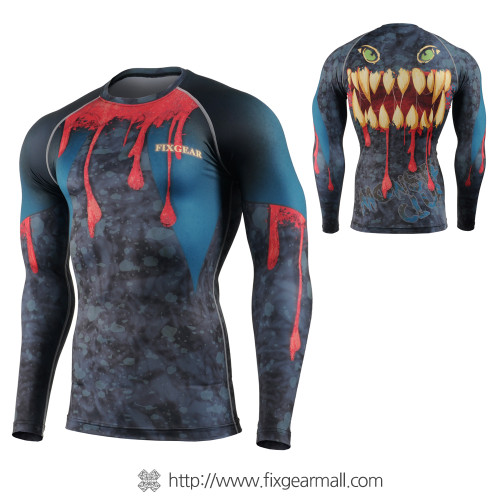 FIXGEAR CFL-91 Compression Base Layer Long Sleeve Shirts