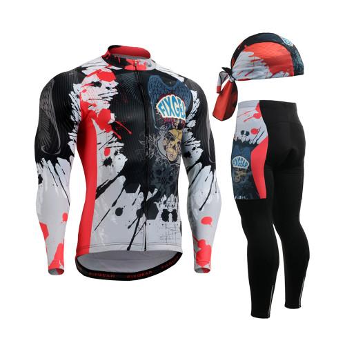 FIXGEAR Cycling Jerseys & Padded Tights CS-4401 SET
