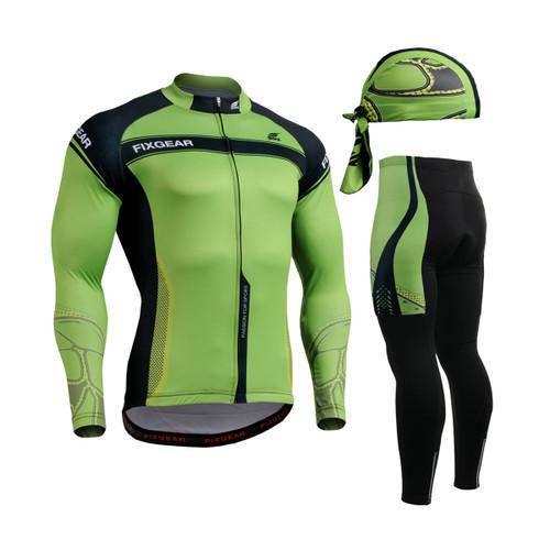 FIXGEAR Cycling Jerseys & Padded Tights CS-7501 SET
