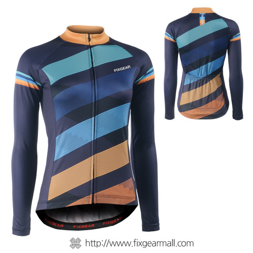FIXGEAR CS-WH601 Women's Long Sleeve Cycling Jersey