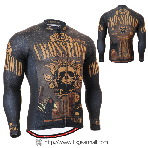 FIXGEAR CS-2701 Men's Cycling Jersey long sleeve