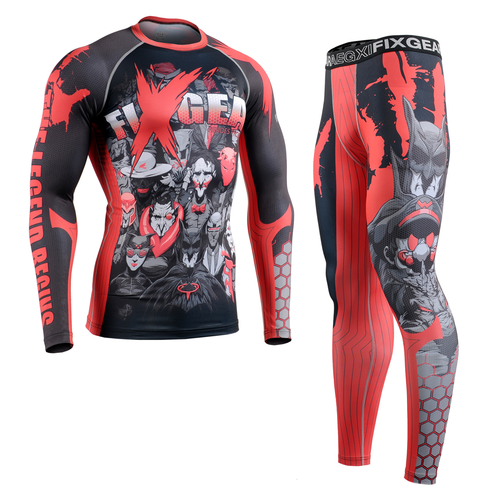FIXGEAR CFL/FPL-H4 Compression Shirt and Tights Set