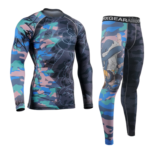 FIXGEAR CFL/FPL-H5C Compression Shirt and Tights Set