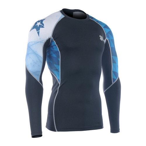 FIXGEAR C2L-B65 Compression Base Layer Long Sleeve Shirts