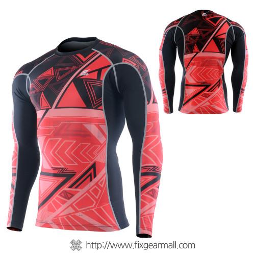 FIXGEAR CTR-B2 Compression Base Layer Long Sleeve Shirt