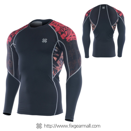 FIXGEAR C2L-B28 Compression Base Layer Long Sleeve Shirts