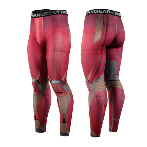 FIXGEAR FPL-81 Compression Base Layer Tights with Wide Waistband