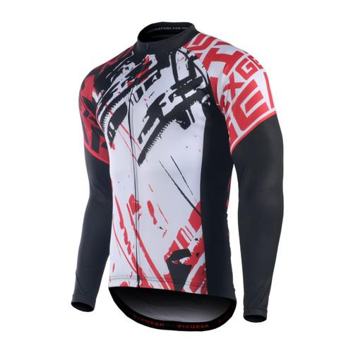 FIXGEAR CS-G801 Men's Long Sleeve Road Cycling Jersey