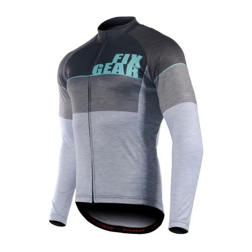 FIXGEAR CS-G1301 Men's Long Sleeve Road Cycling Jersey