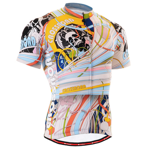 FIXGEAR CS-302 Men's Cycling Jersey Short Sleeve front view