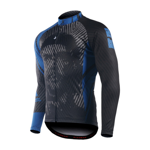 FIXGEAR CS-P101 Men's Long Sleeve Road Cycling Jersey