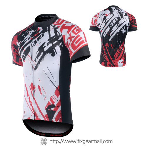 FIXGEAR CS-G802 Men's Short Sleeve Road Cycling Jersey