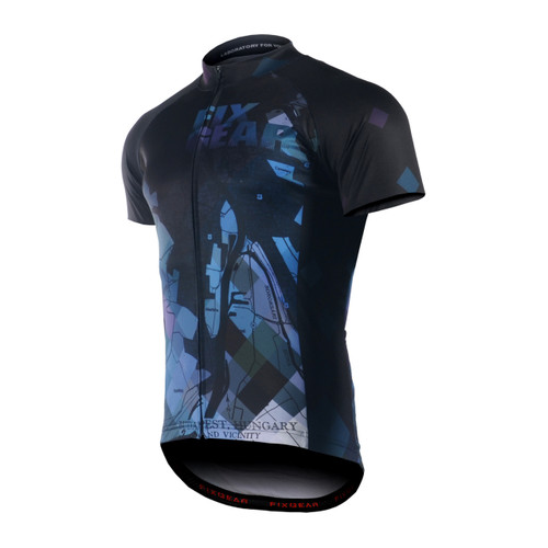 FIXGEAR CS-G1402 Men's Short Sleeve Road Cycling Jersey