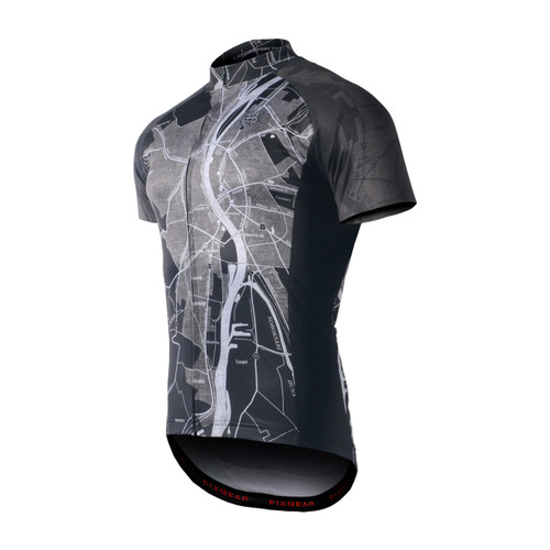 FIXGEAR CS-G1502 Men's Short Sleeve Road Cycling Jersey