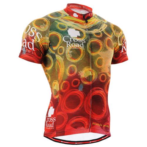 FIXGEAR CS-402 Men's Cycling Jersey Short Sleeve front view