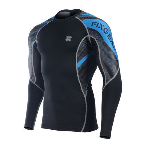 FIXGEAR C2L-B68B Compression Base Layer Long Sleeve Shirts
