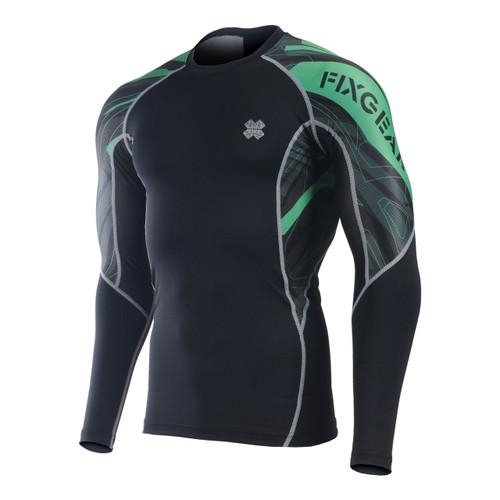 FIXGEAR C2L-B68G Compression Base Layer Long Sleeve Shirts