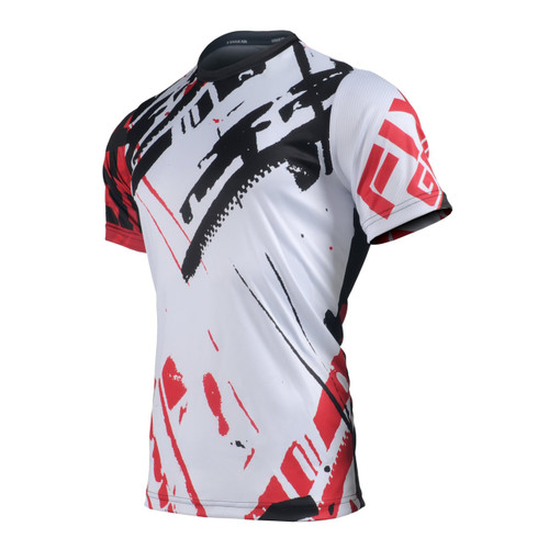 FIXGEAR RM-G8 Men's Casual short sleeve Crew-Neck T-shirt