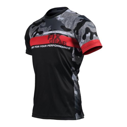 FIXGEAR RM-M5 Men's Casual short sleeve Crew-Neck T-shirt