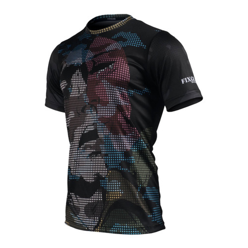 FIXGEAR RM-M6 Men's Casual short sleeve Crew-Neck T-shirt