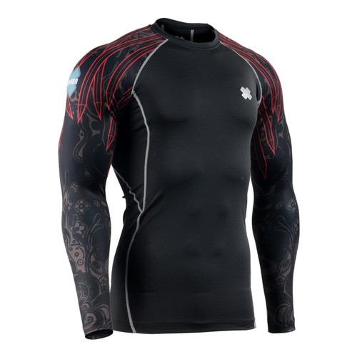 FIXGEAR CPD-B90 Compression Base Layer Long Sleeve Shirts