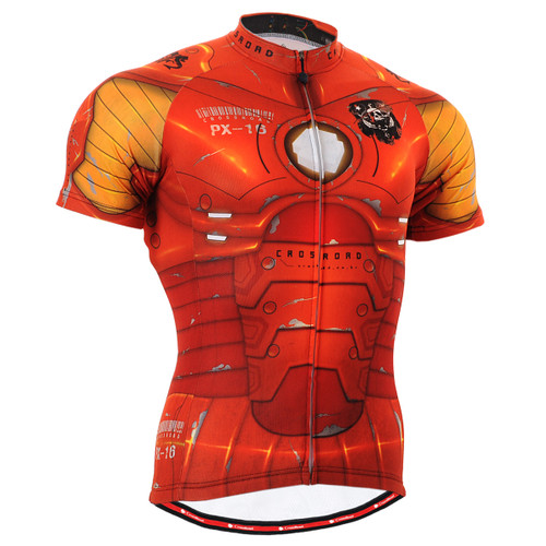 FIXGEAR CS-802 Men's Cycling Jersey Short Sleeve front view