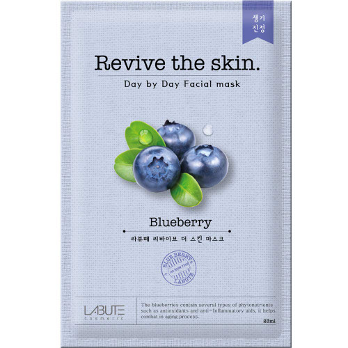 LABUTE Revive The Skin Blueberry Mask Sheet (10EA)
