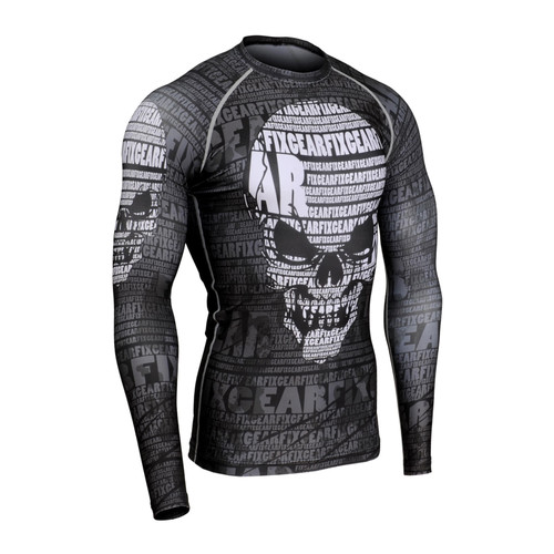 FIXGEAR CFL-S17 Compression Base Layer Long Sleeve Shirts (CFL-S17)