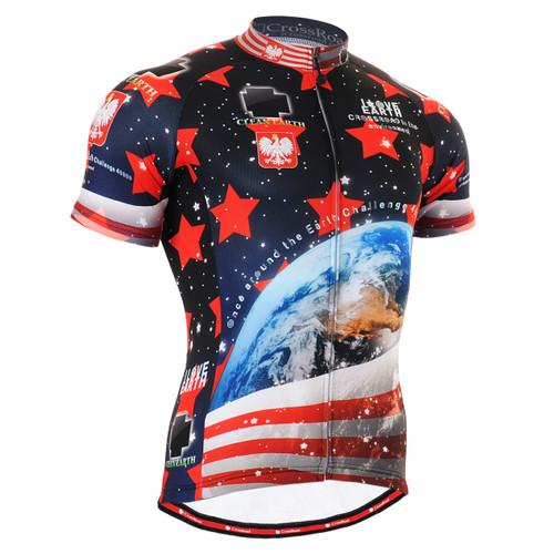 FIXGEAR CS-1002 Men's Cycling Jersey Short Sleeve Front
