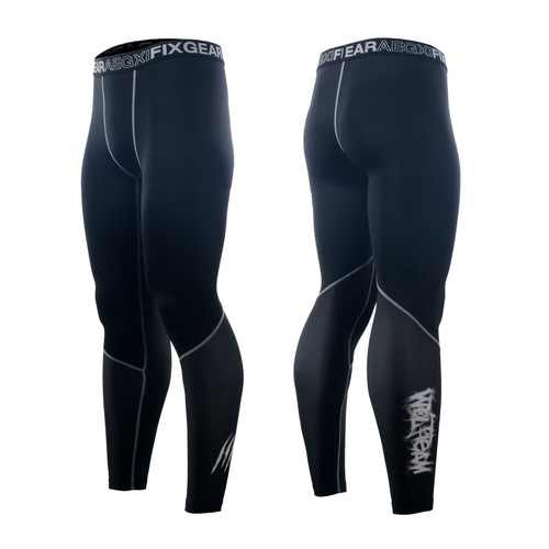 FIXGEAR FPL-18 Compression Base Layer Tights with Wide Waistband