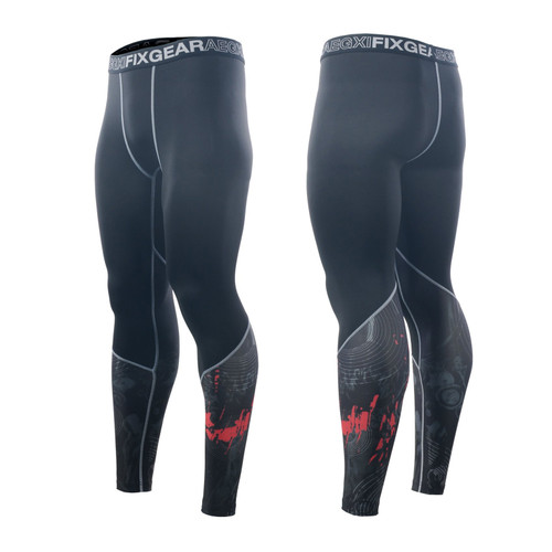 FIXGEAR FPL-30 Compression Base Layer Tights with Wide Waistband