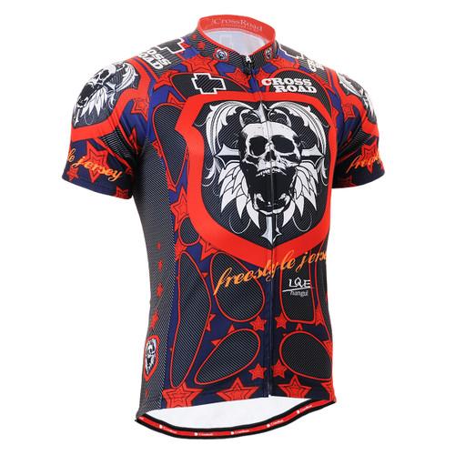 FIXGEAR CS-1102 Men's Cycling Jersey Short Sleeve front view