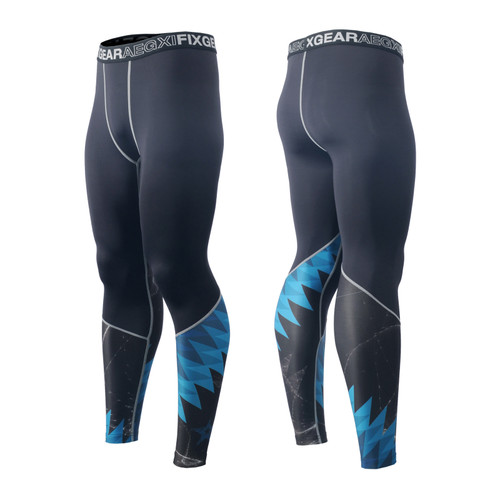 FIXGEAR FPL-65 Compression Base Layer Tights with Wide Waistband