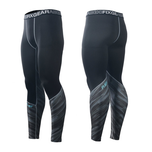 FIXGEAR FPL-67 Compression Base Layer Tights with Wide Waistband