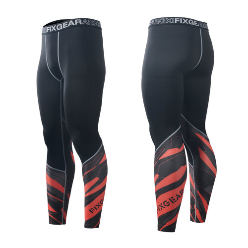 FIXGEAR FPL-68 Compression Base Layer Tights with Wide Waistband