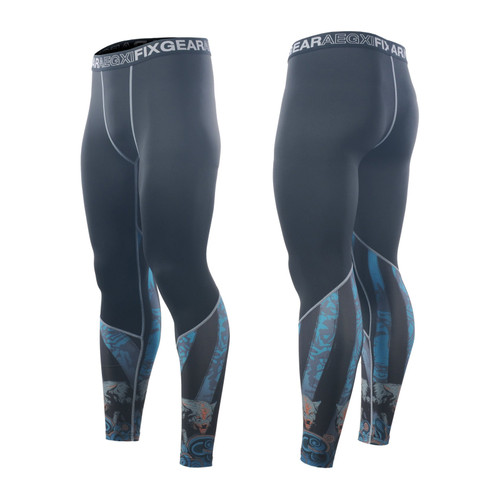 FIXGEAR FPL-74 Compression Base Layer Tights with Wide Waistband