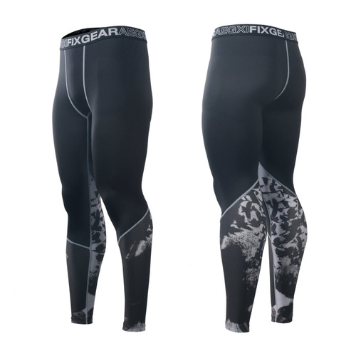 FIXGEAR FPL-80 Compression Base Layer Tights with Wide Waistband