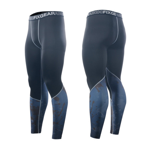 FIXGEAR FPL-86 Compression Base Layer Tights with Wide Waistband