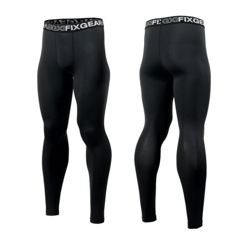 FIXGEAR FPL-BB Compression Base Layer Tights with Wide Waistband