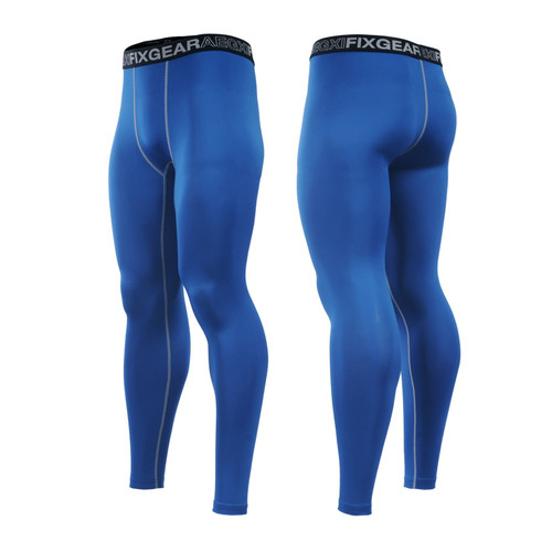FIXGEAR FPL-CS Compression Base Layer Tights with Wide Waistband