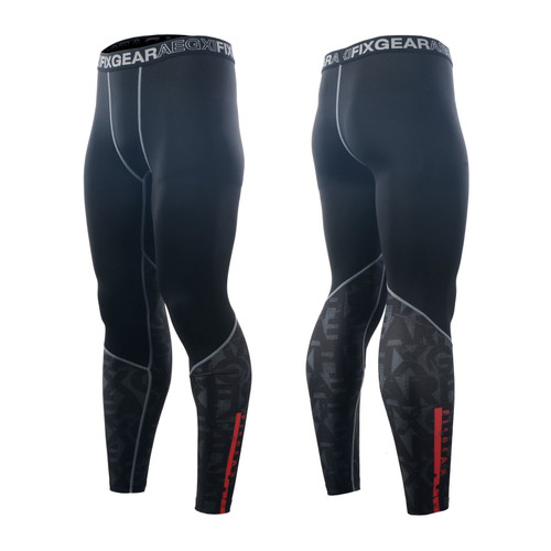 FIXGEAR FPL-G6 Compression Base Layer Tights with Wide Waistband