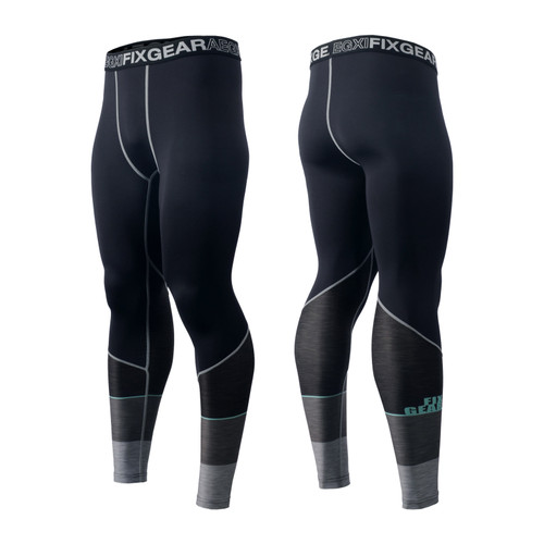 FIXGEAR FPL-G13 Compression Base Layer Tights with Wide Waistband